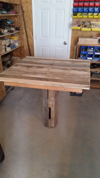 Beginning of the Pallet Table