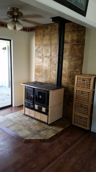Completed Cookstove Hearth